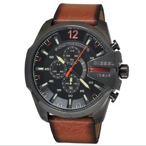 Diesel Men's Chronograph Mega Chief Watch DZ4343